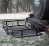 Cargo Hauler Hitch Rack, Basket-Style, Fits 2-Inch Or 1-1/4-Inch Hitch Receivers With Included Extension, By Surco