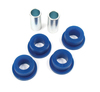 Polyurethane Bushing By Polybush, Rear Suspension Top Link A-Frame Bushing Set Coil, Blue / Soft, For Land Rover Discovery 1, Defender 90 And Range Rover Classic
