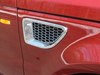 Grille - Side Air Intake - Chrome Finish - Right Hand