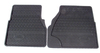 Genuine Rubber Front Floor Mats, 2-Piece Set, Black For Land Rover Defender 90 And 110