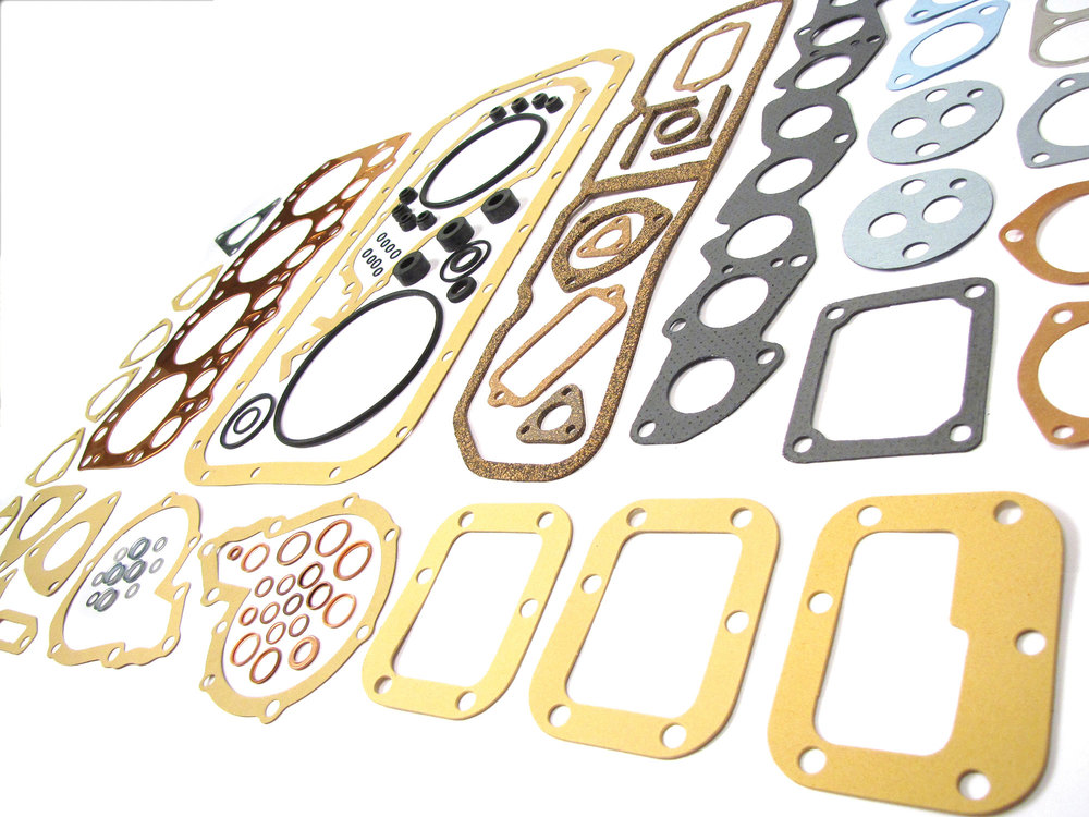 Replacement Gasket Kit 608124, Full Engine 2.25 Gas / Petrol, For Land Rover Series 2, 2A And 3