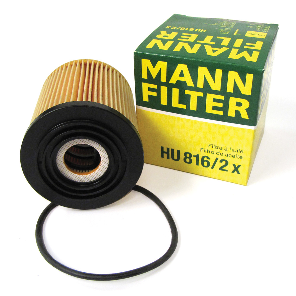 Oil Filter With Gasket By MANN