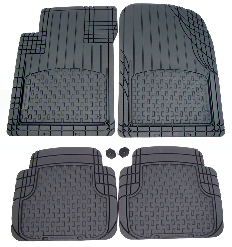 WeatherTech Avm All Vehicle Trim-To-Fit Mat Set (4 Mats) Black