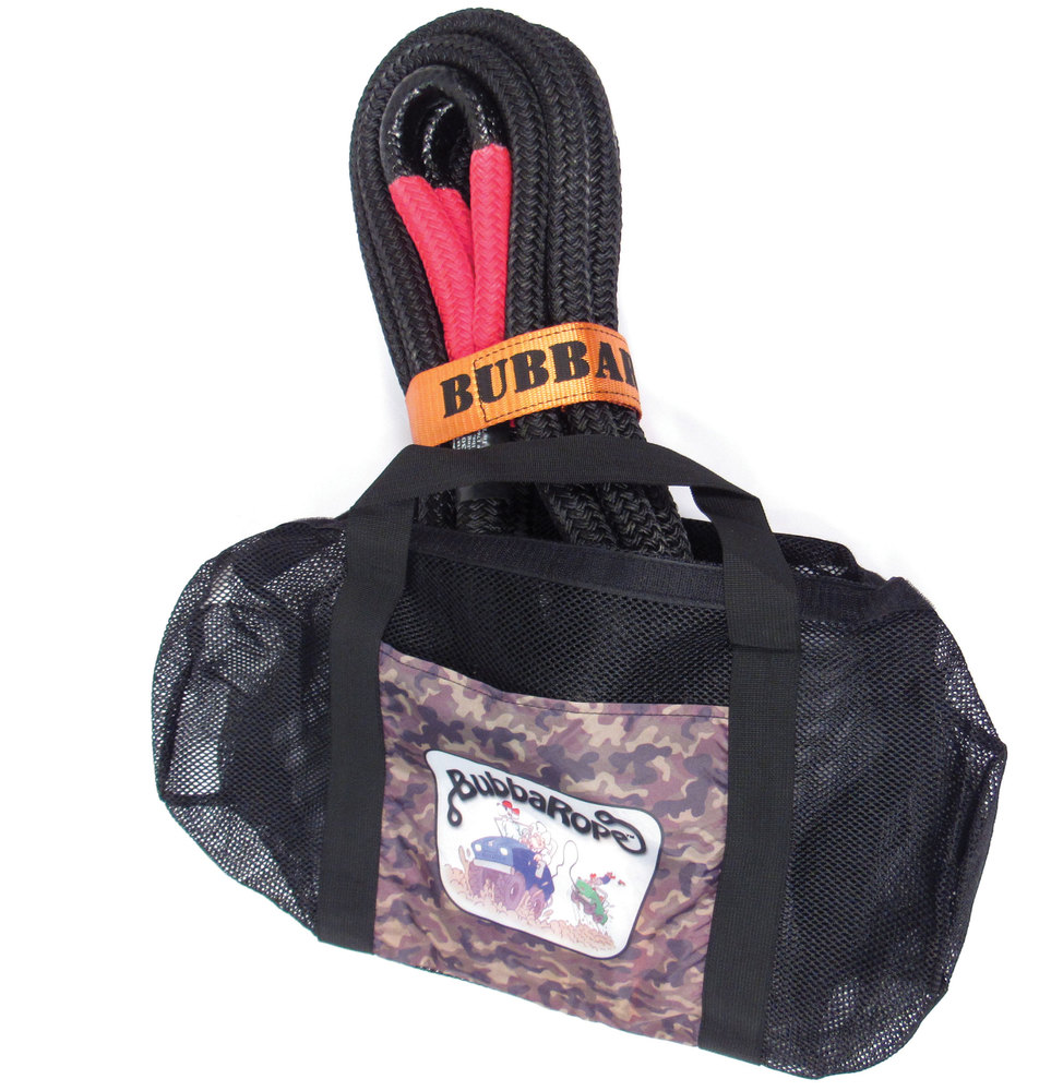 Bubba Rope in carrying case