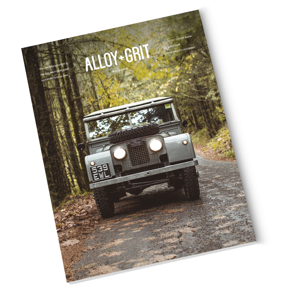 Alloy And Grit, Winter 2019 Edition, Land Rover Enthusiast And Lifestyle Magazine