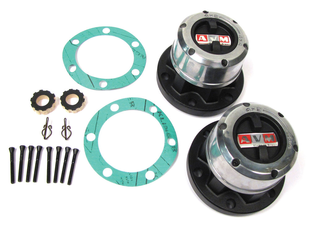 Hub Set, Freewheeling, For Land Rover Series 2, 2A, And 3