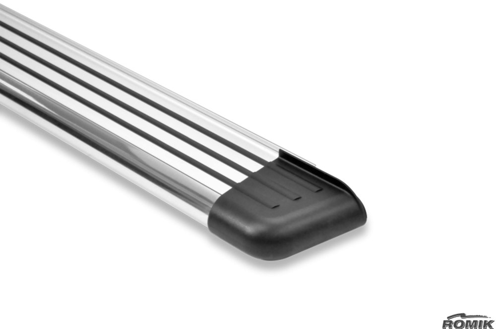 stainless steel running board by Romik