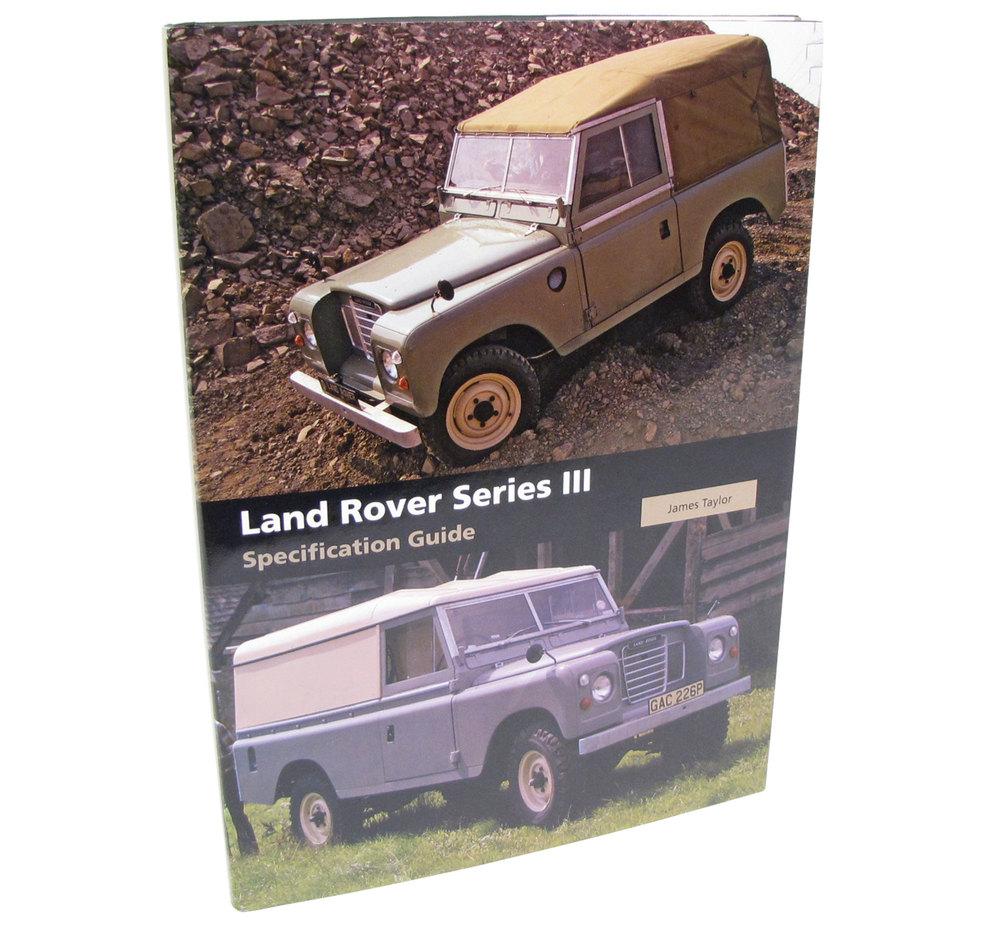 Book-Land Rover Series 3
