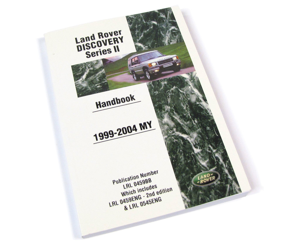 Land Rover Discovery II Owners Handbook, Official Publication By Brooklands
