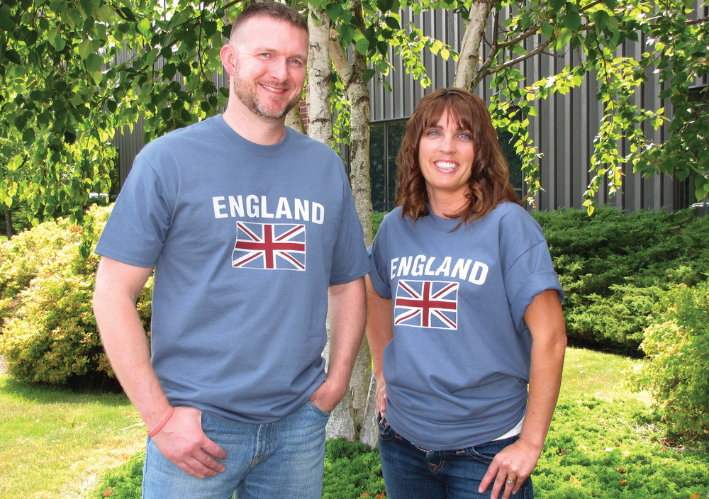 T-Shirt: England Union Jack