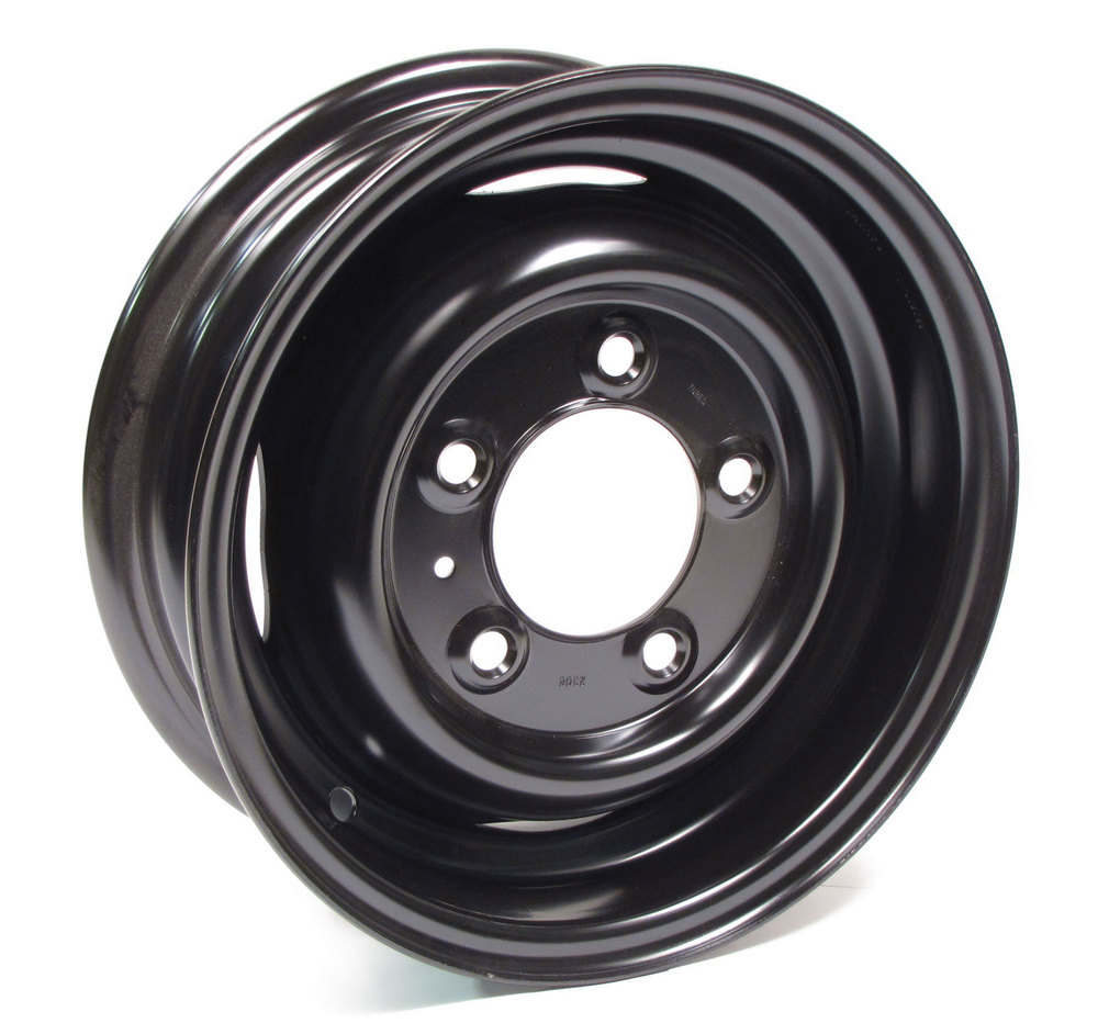 Steel Wheel, 16 By 5.5-Inch Steel, Black, Tube Type For Land Rover Series 2, 2A And 3 (88 And 109)