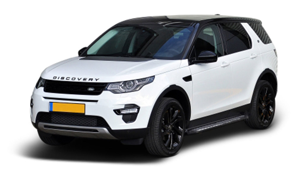 Side Steps / Running Boards For Land Rover Discovery Sport, Stainless Steel Pair, RZR Series By Romik