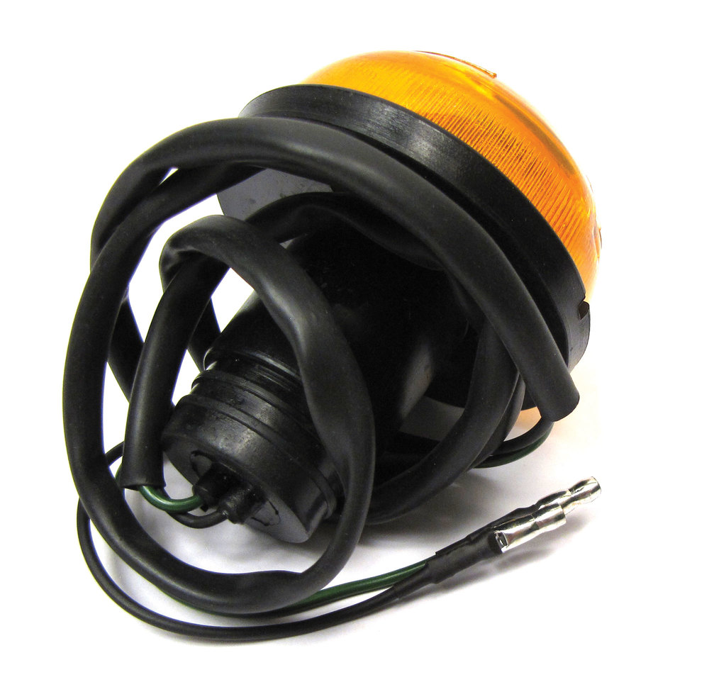 Directional Lamp Or Turn Signal: Amber