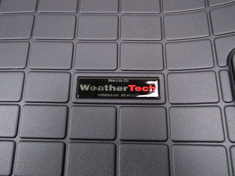 Cargo Liner Molded Mat By WeatherTech, Black For Range Rover Velar
