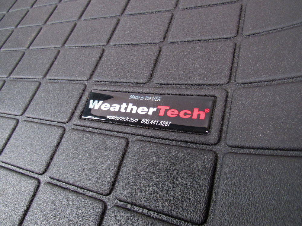 Cargo Liner Molded Mat By WeatherTech, Black For Range Rover Evoque Convertible