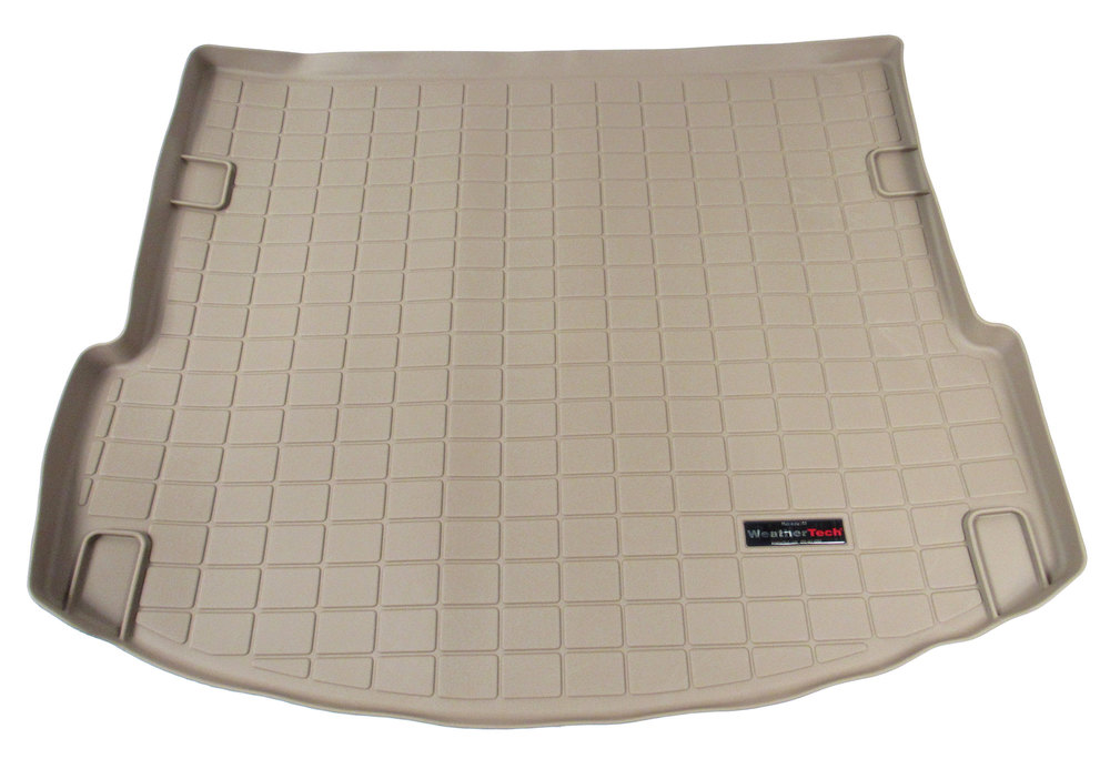 Cargo Liner Tan Behind 2nd Row With 3rd Row Seating