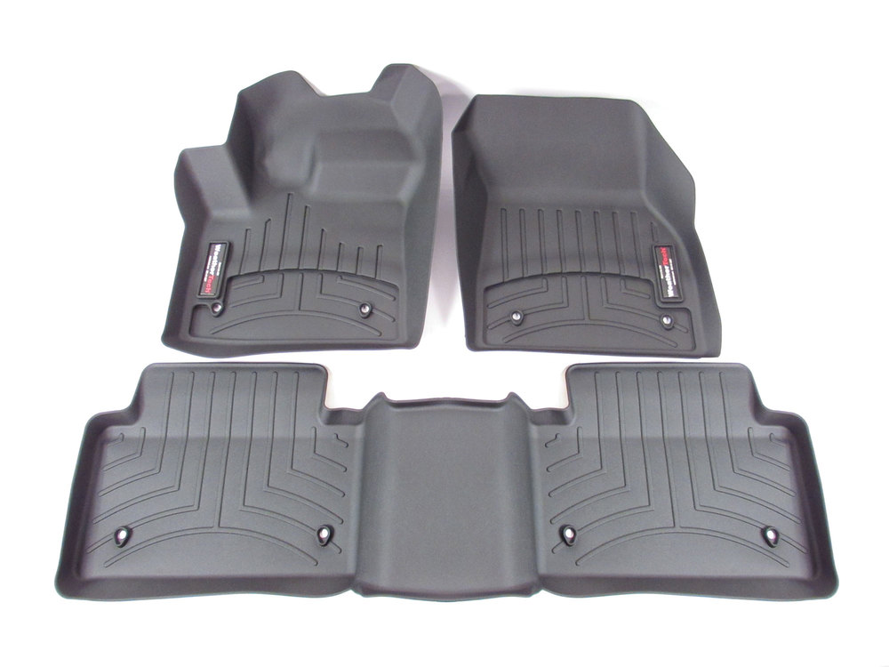 Floor Liner Front And Rear-Black