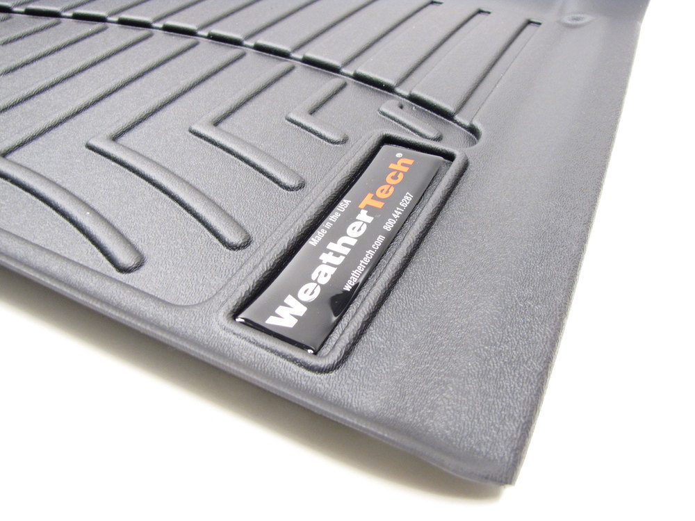 Floorliner Molded Mat By WeatherTech Front Pair Black
