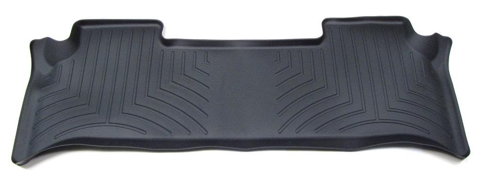 Floorliner™ Molded Mat By Weathertech® Rear Seat Black