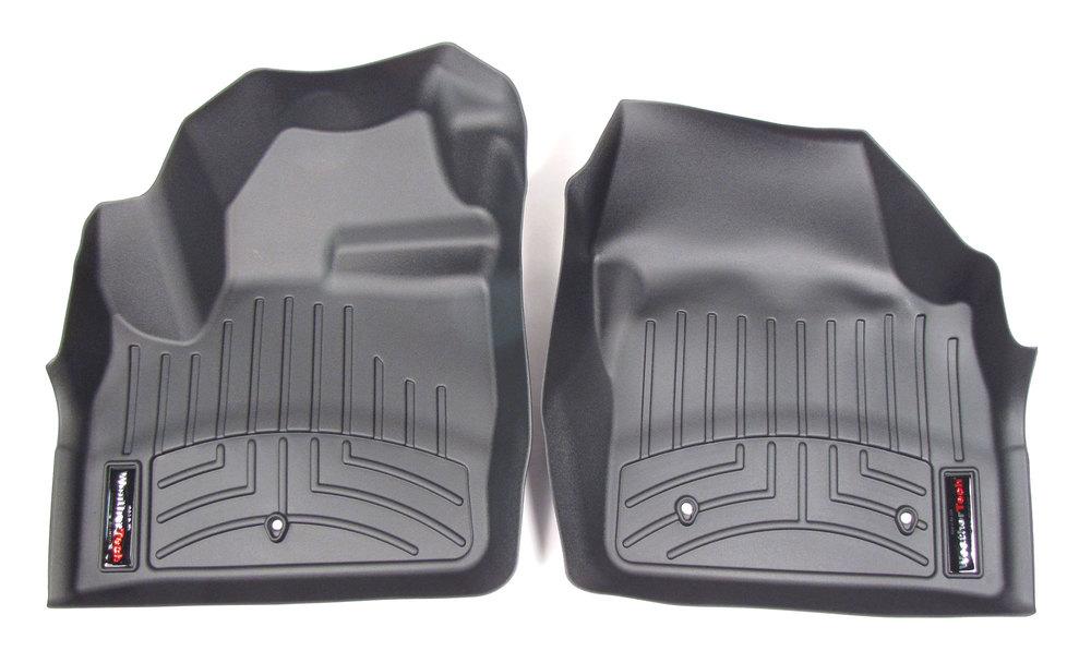 Floor Liner Front Pair Black