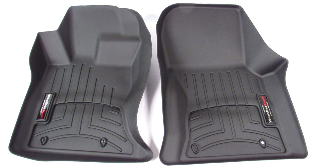 Floorliner Molded Mat By WeatherTech, Front Pair, Black For Range Rover Velar