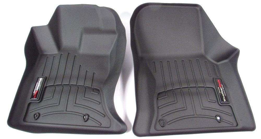 Floorliner Molded Mat By WeatherTech, Front Pair, Black For Range Rover Velar