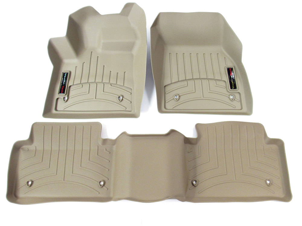 Floor Liner Front And Rear-Tan