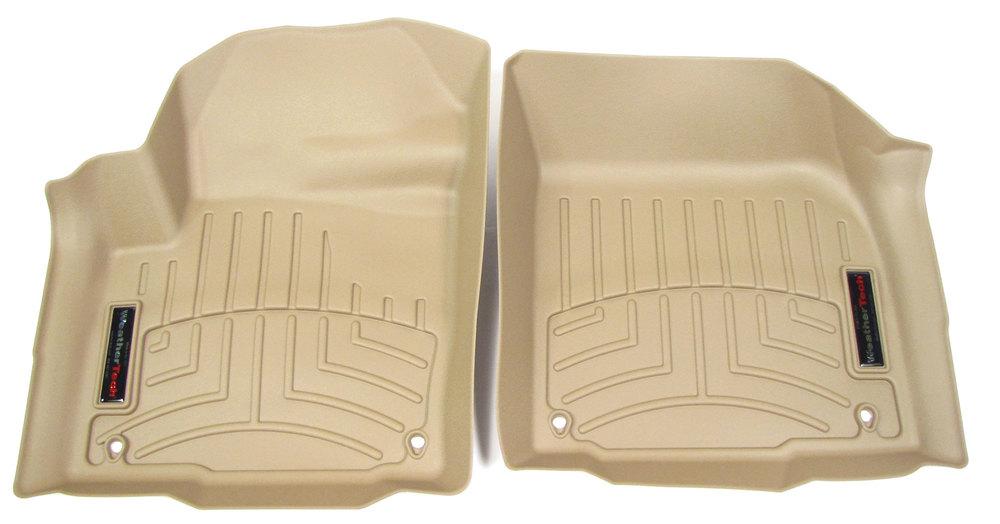 Floorliner™ Molded Mat By Weathertech® Front Pair Tan