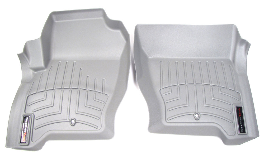 Floorliner™ Molded Mat By Weathertech® Front Pair Grey