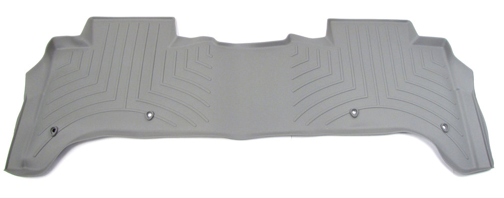 Floorliner™ Molded Mat By Weathertech® Rear Seat Grey