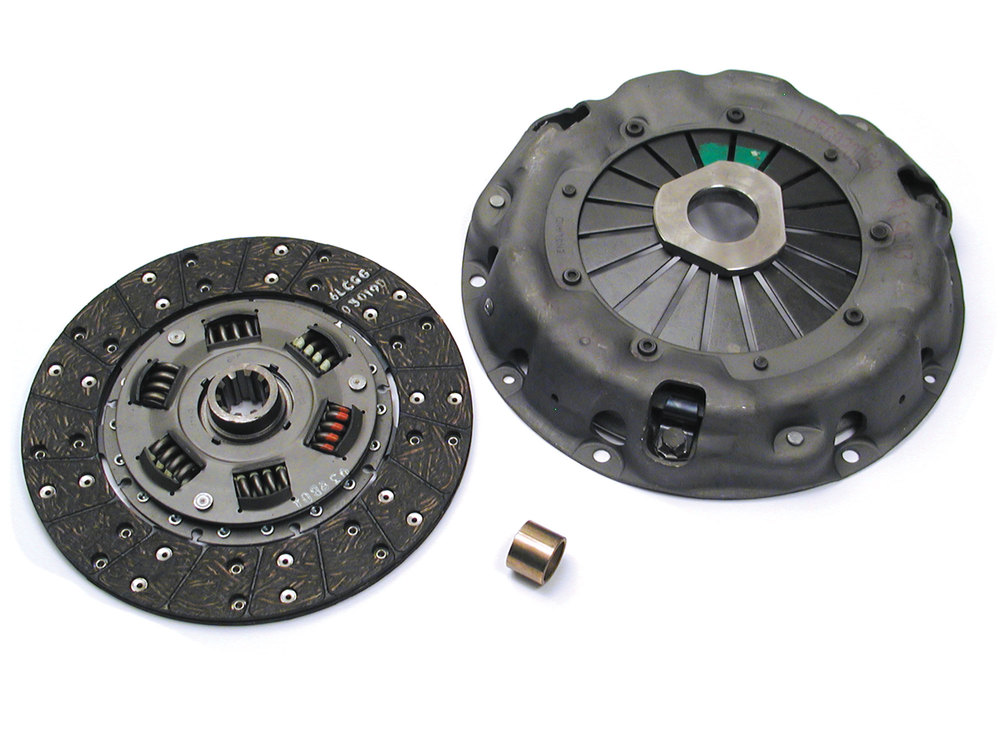 Clutch Kit, Includes Clutch Disc And Flywheel Bushing For Land Rover Series II/IIA