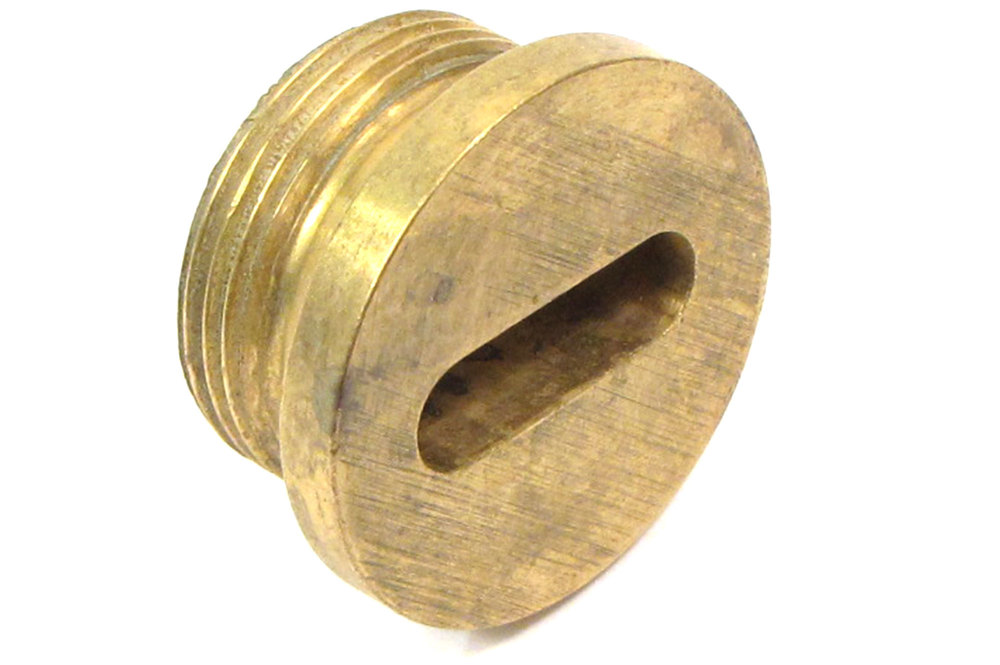 Drain Plug, Differential, Brass Plug For Bottom Of Axle Casing, For Land Rover Series II, IIA And III (Includes 109)