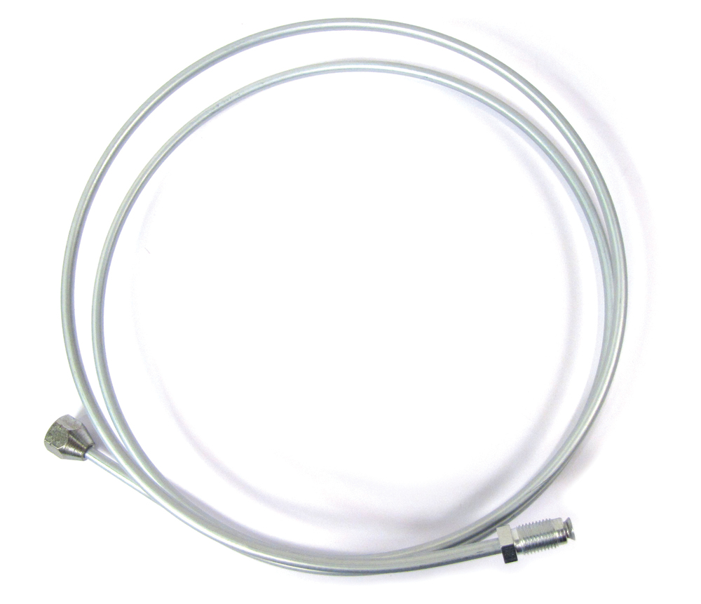 Brake Pipe: Front Junction T-Piece To Rear Hose 88-Inch
