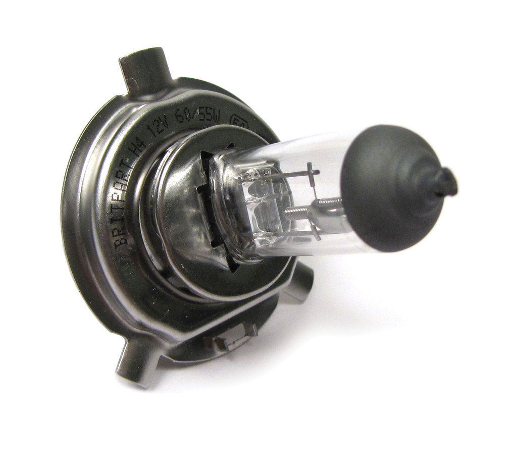 Bulb, Headlight, H4 55 / 60W, For Land Rover Discovery I, Discovery Series II, And Range Rover P38