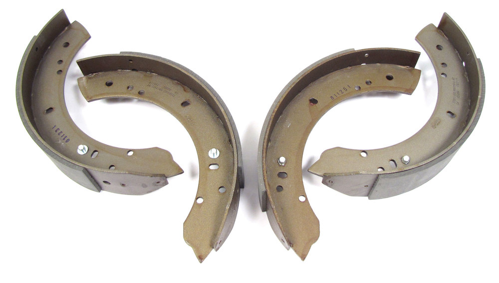 Rear Brake Shoes By Mintex, Axle Set, For Land Rover Defender 110 And Series 2 And 2A 109-Inch