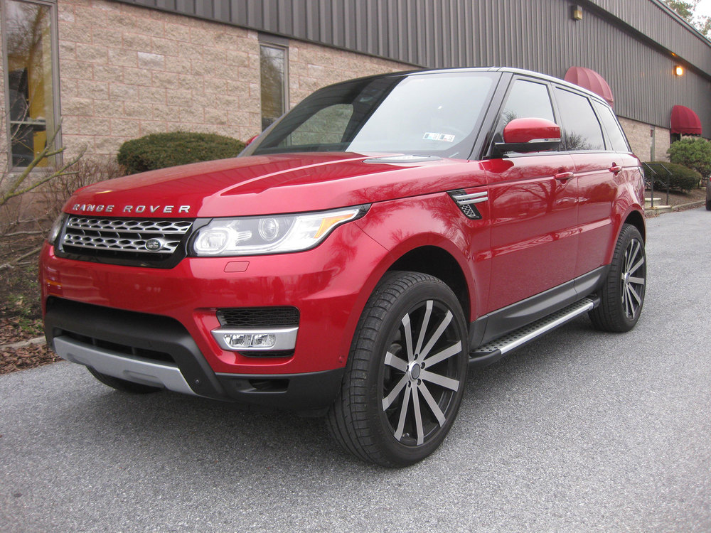 Side Steps / Running Boards For Range Rover Sport, Silver Pair, RAL Series By Romik