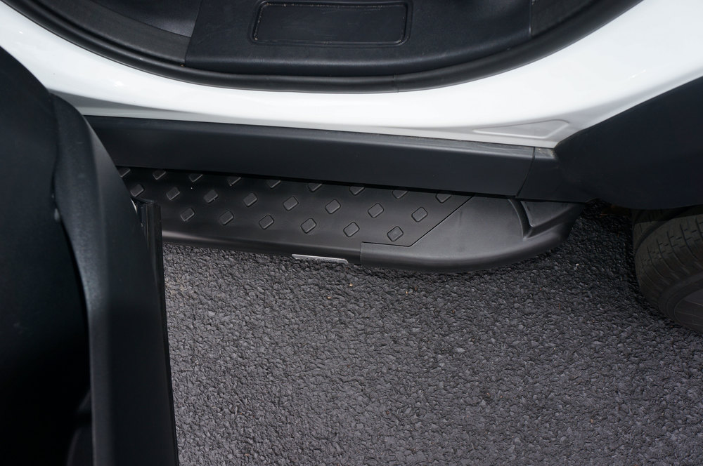 Side Steps / Running Boards For Land Rover Discovery 5, Black Pair, RAL Series By Romik