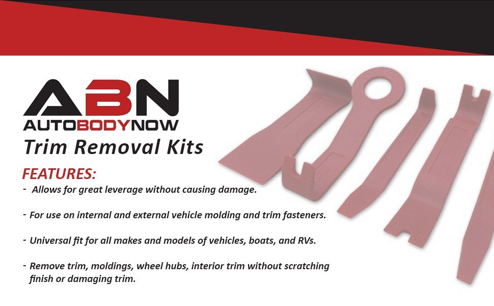 ABN Auto Trim Removal Tool Kit Features