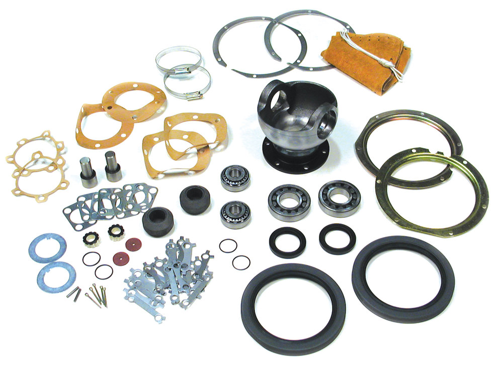 Swivel Ball Rebuild Kit For Land Rover Series 2 And 2A Through 1971