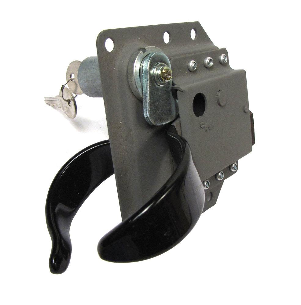 Door Latch - Lock With Key - Right Hand