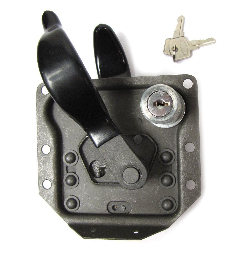 Door Latch - Lock With Key - Left Hand