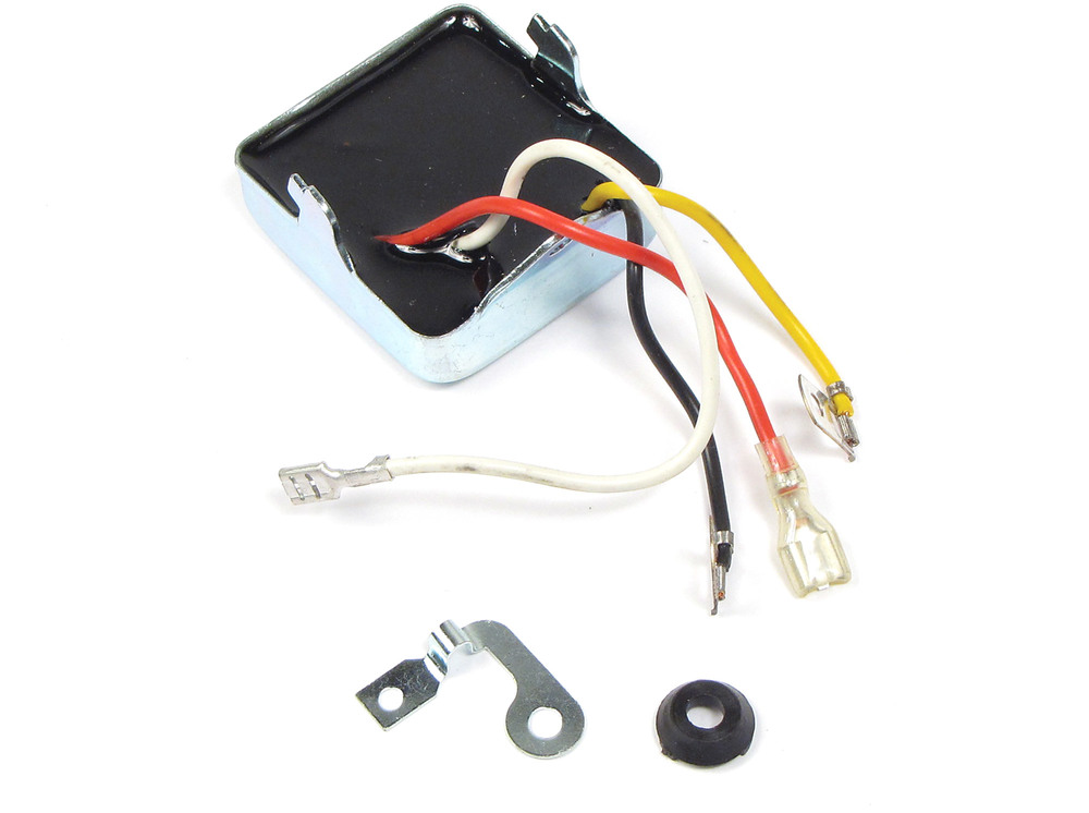 Voltage Regulator, Thick Style, For Land Rover Series 2, 2A And 3, 88 And 109 Inch