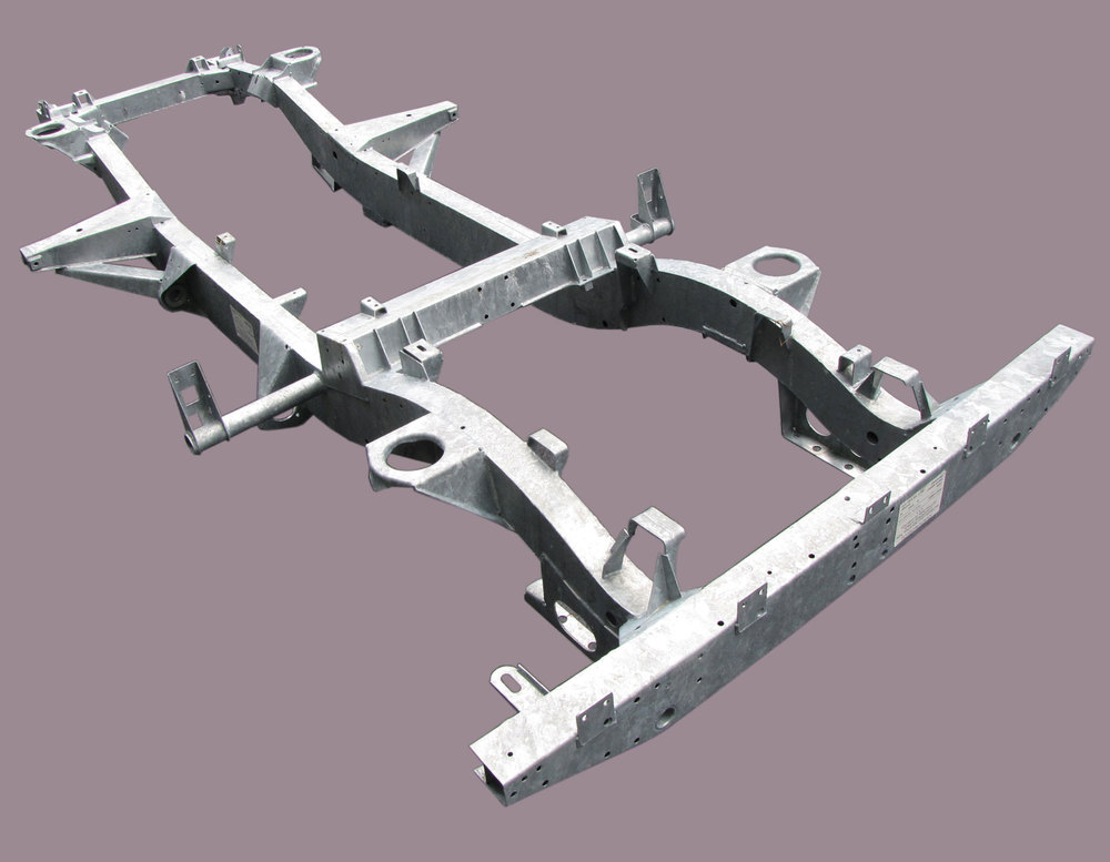 Chassis For Defender 110, North American Spec, Galvanized