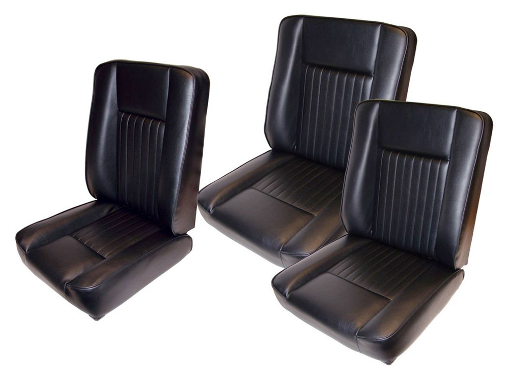 Land Rover Series front seats