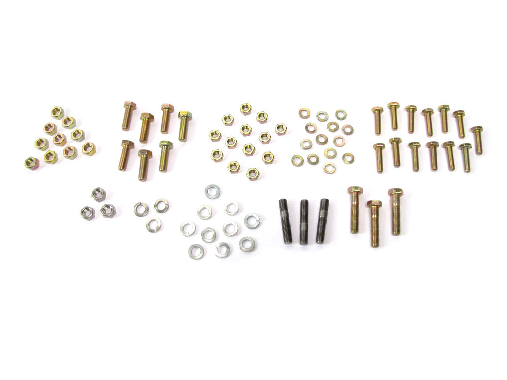 Standard Exhaust Bolt Kit For Land Rover Series 2, 2A And 3, 88-Inch Models