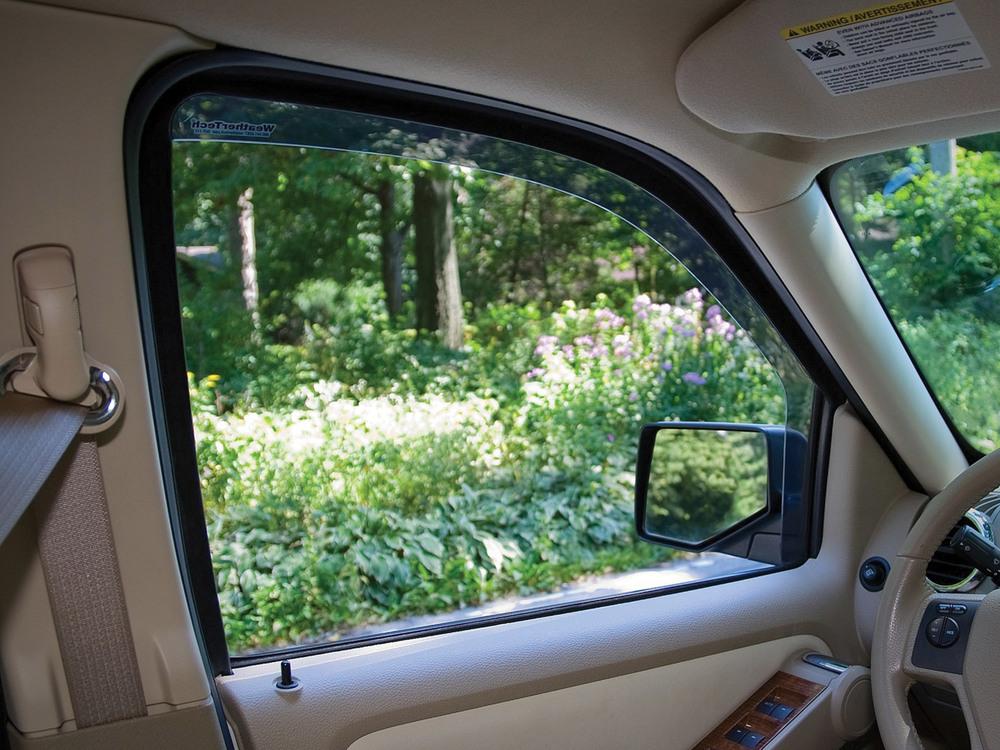 Air Deflectors Front Windows Dark Tint 2 Door