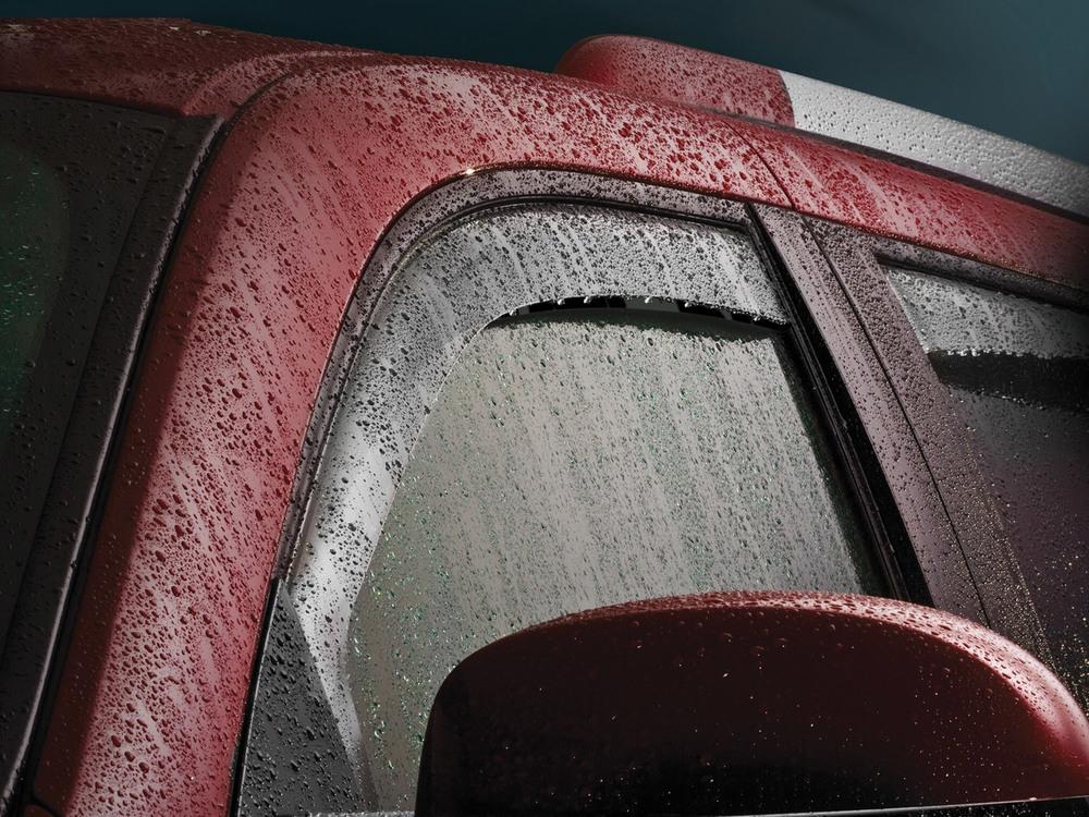 Air Deflectors Side Windows Dark Tint