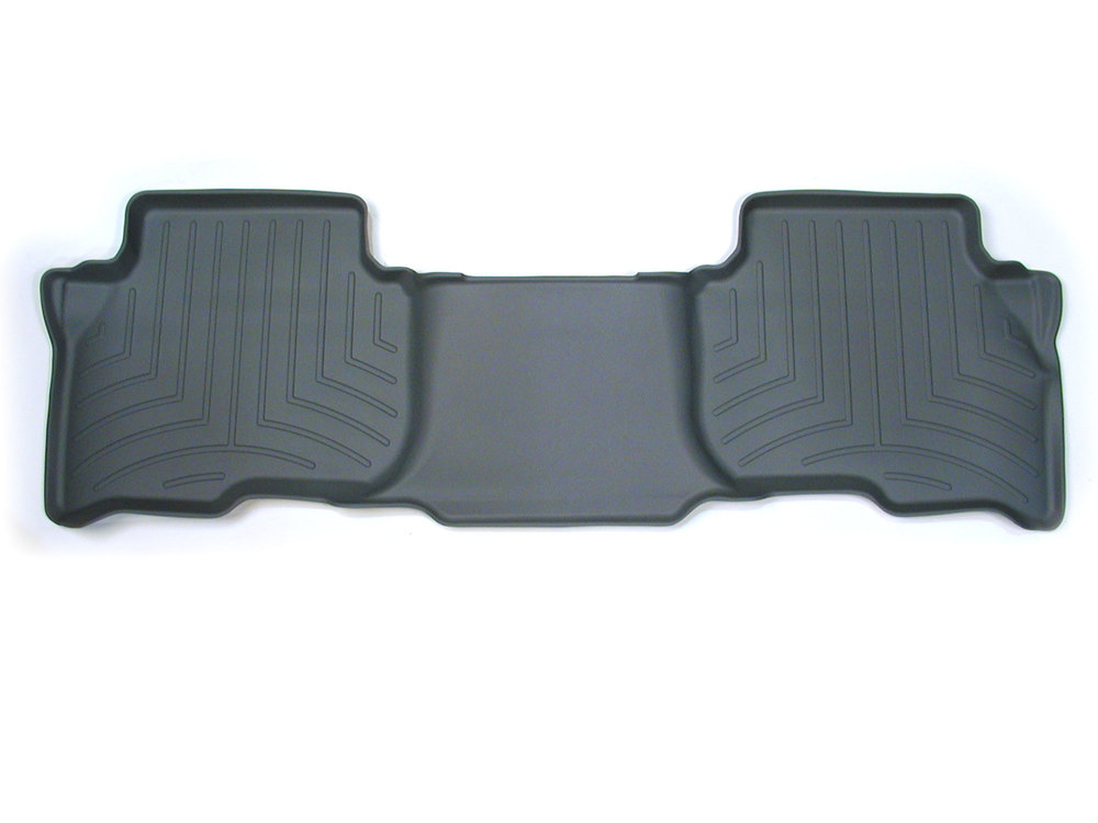 Floorliner Molded Mat By WeatherTech, Grey, 2nd Row Rear Seat, For Land Rover LR3, LR4 And Range Rover Sport (See Fitment Years)
