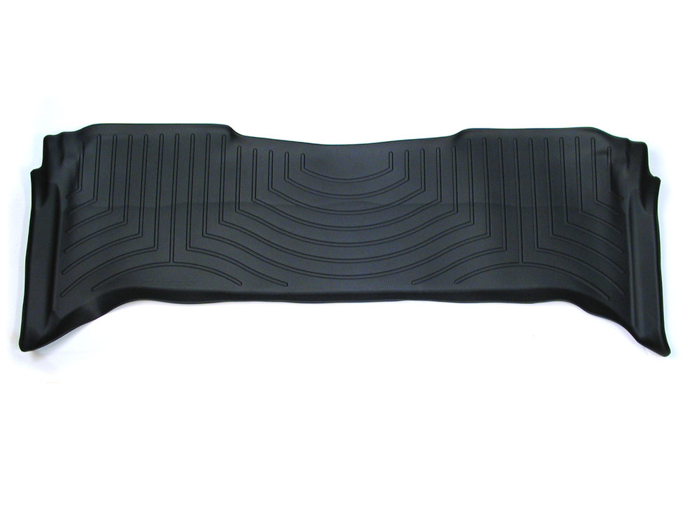 Floorliner™ Molded Mat By Weathertech® Rear Seat Black