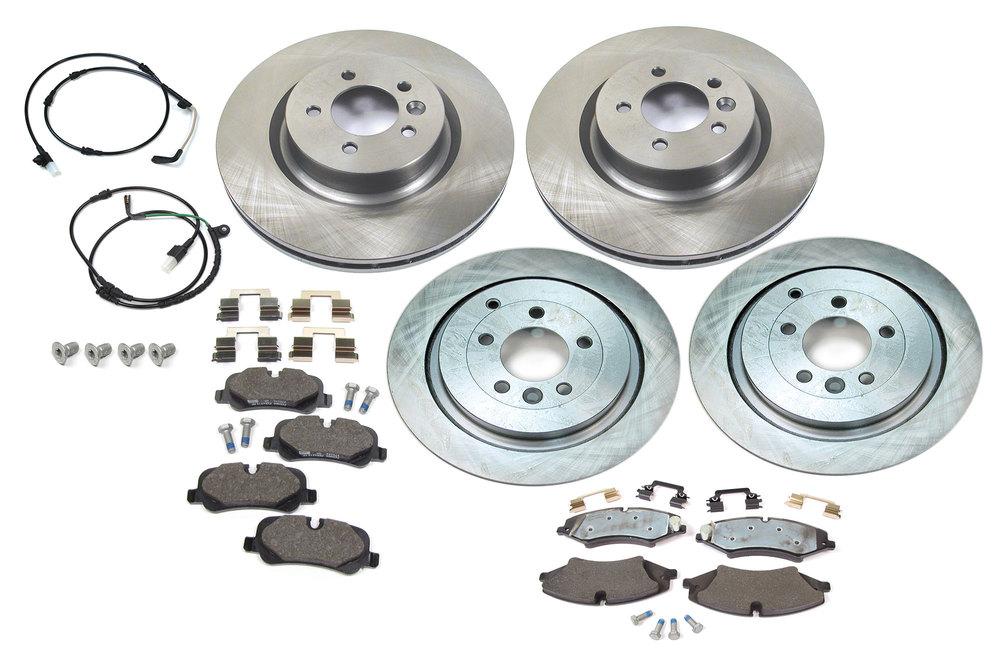 Brake Rebuild Kit Front & Rear